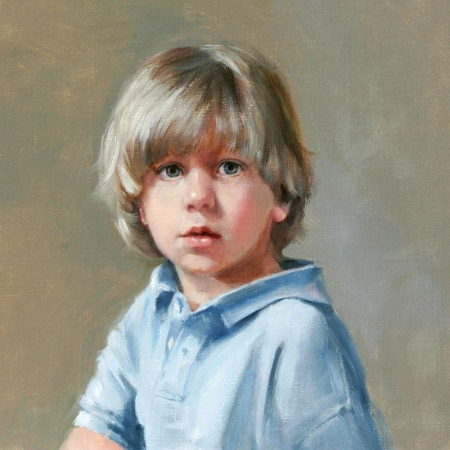 سفارش نقاشی چهره با رنگ روغن